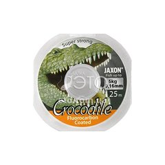 Флюорокарбон Jaxon Crocodile FluoroCarbon 0,16 mm 25 m