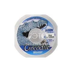 Леска Jaxon Crocodile Winter 0,10mm 50 m