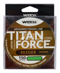 Леска Weida Titan Force Feeder Brown 150 м