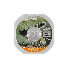Флюорокарбон Jaxon Crocodile FluoroCarbon 0,14 mm 25 m