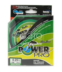 Шнур Power Pro (Power Line) 125 м 0,25мм (зеленый)