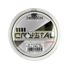 Леска Dragon NanoCRYSTAL 135m 0,20mm/5,40kg